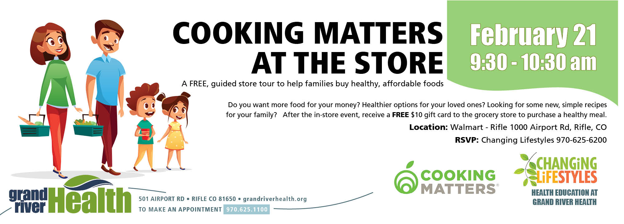 cooking Matters at the store event
