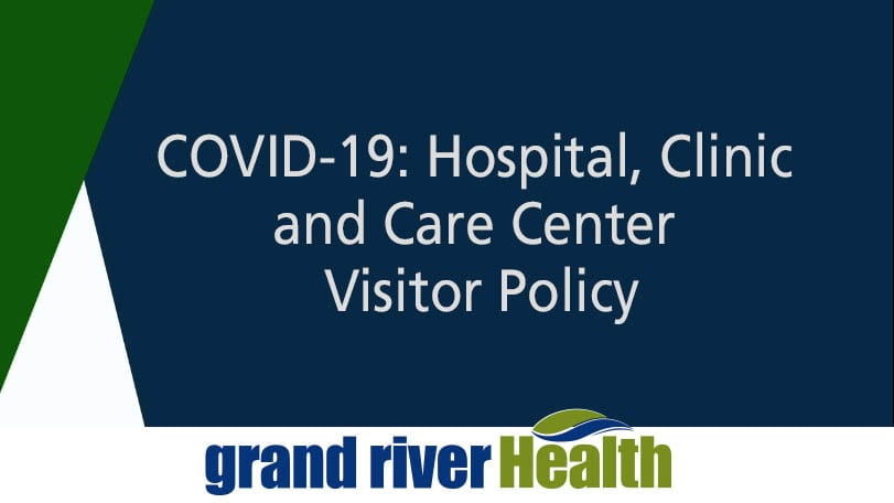 COVID-19: Hospital, Clinic and Care Center Visitor Policy