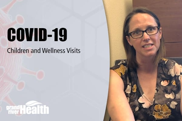 Children and Wellness Visits during COVID