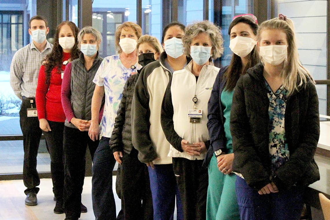 care center crew