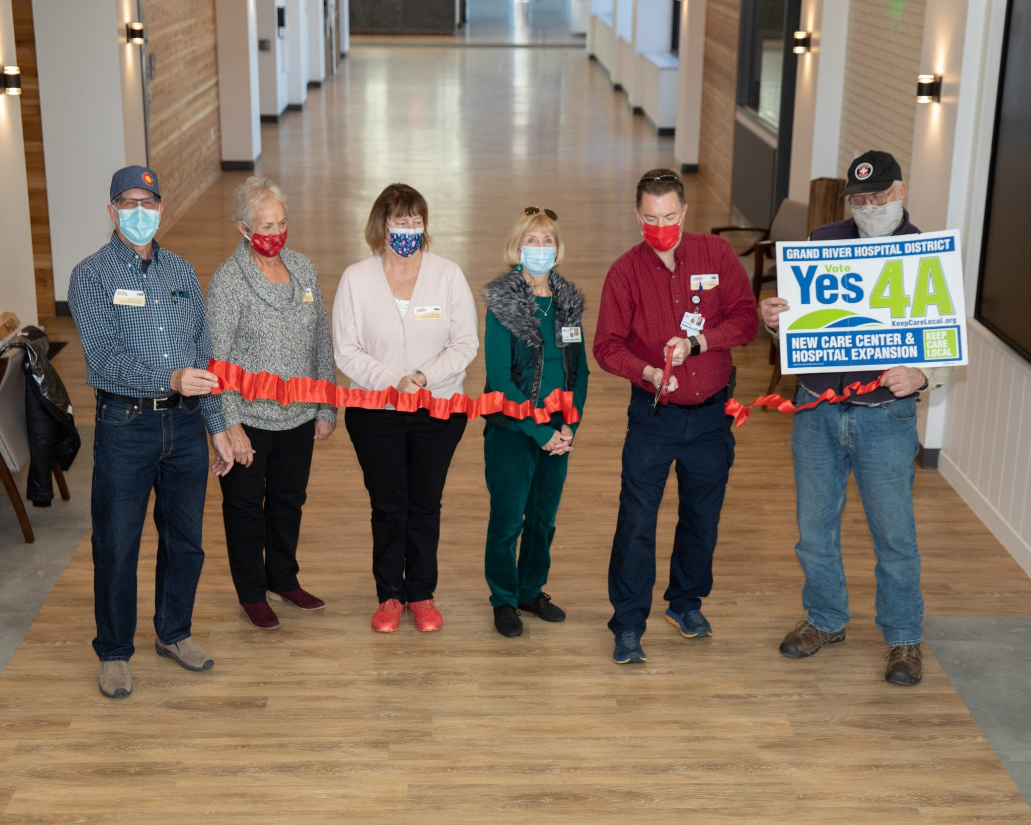 Grand River Health – Care Center Resident's move into their new home