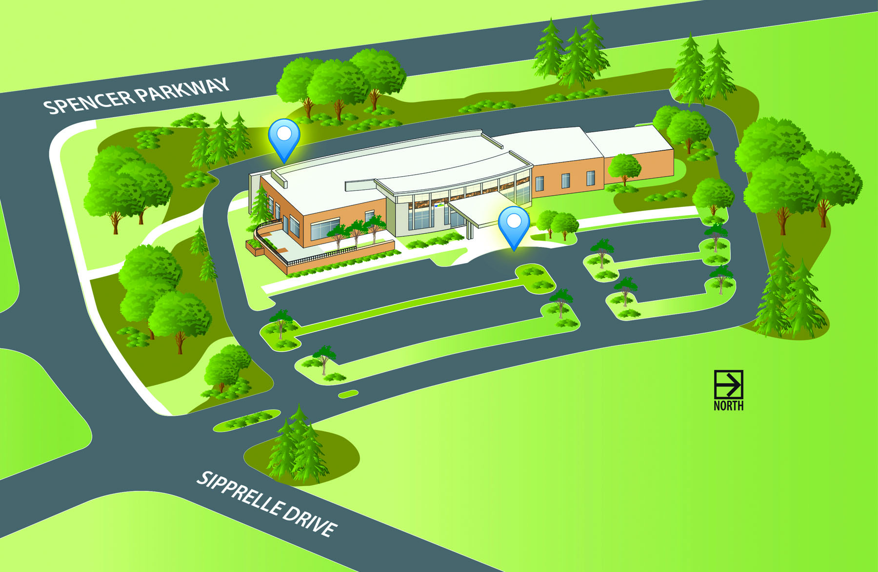 Clinic West Map