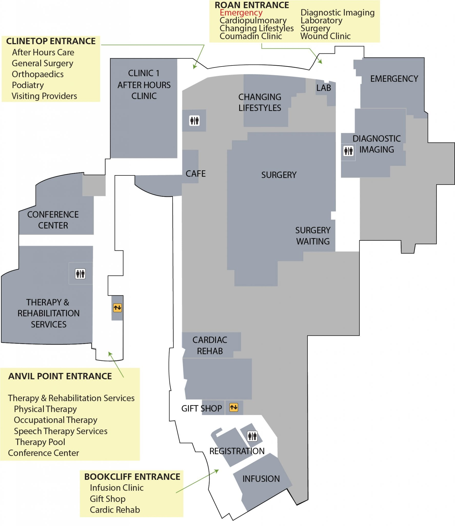 First Floor services